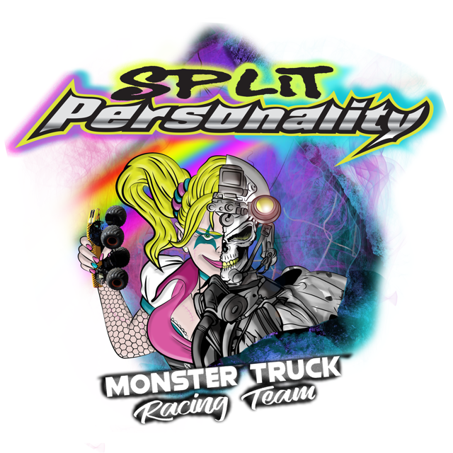 Split Personality Monster Truck Racing Team